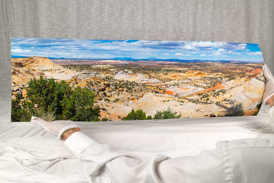 10 by 30 inch panoramic print